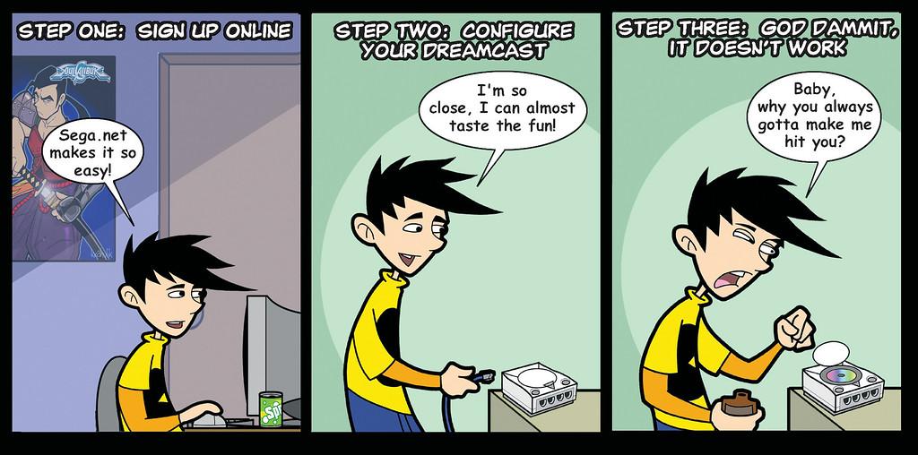 Sega.Net: It Doesn't Work(TM)