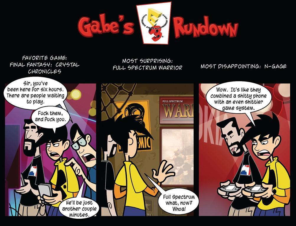 Gabe's E3 Rundown
