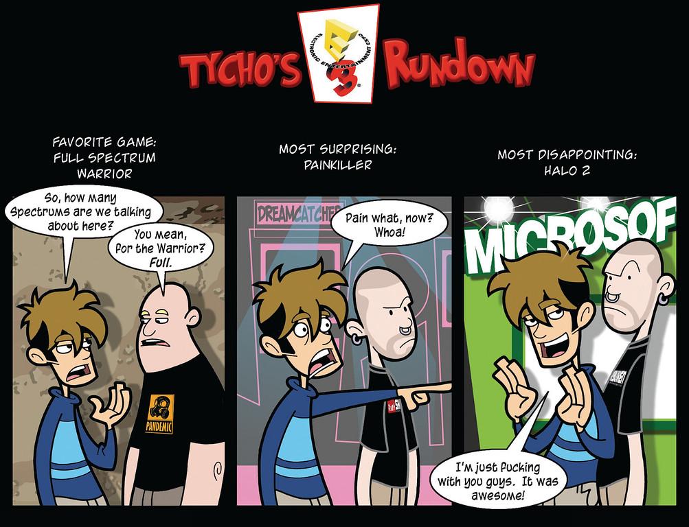 Tycho's E3 Rundown