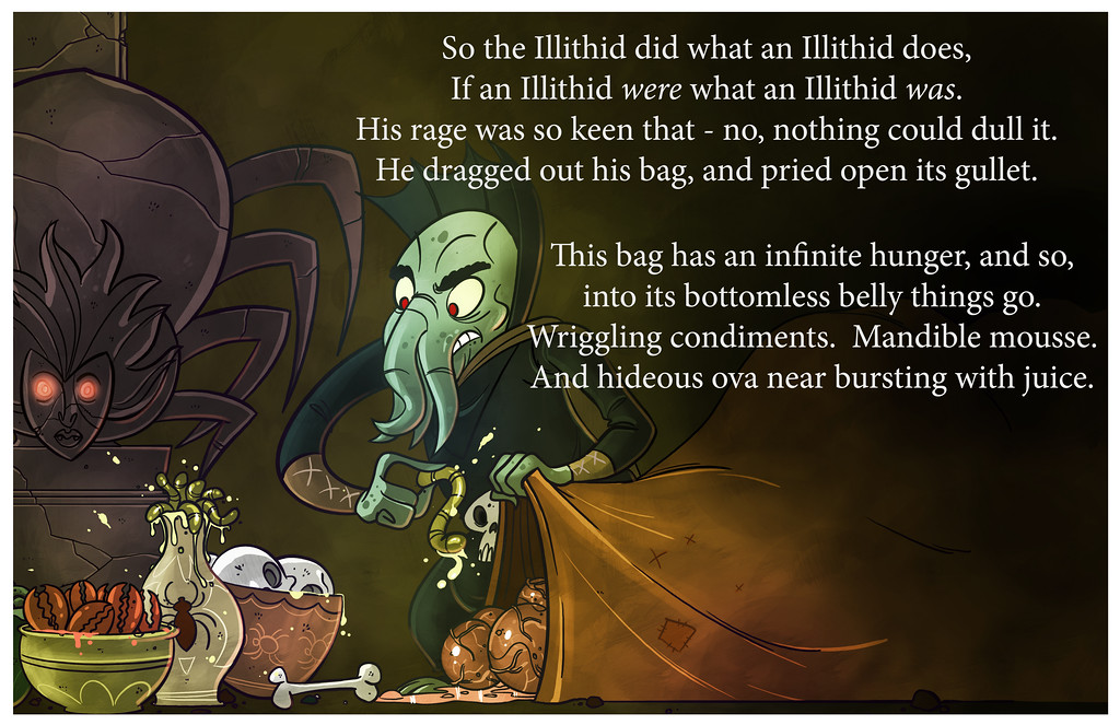 How The Illithid Stole Lolthmas, Part Two