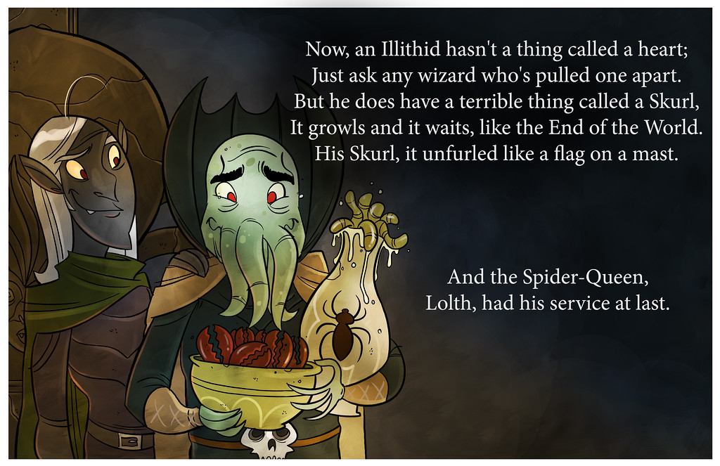 How The Illithid Stole Lolthmas, Part Four