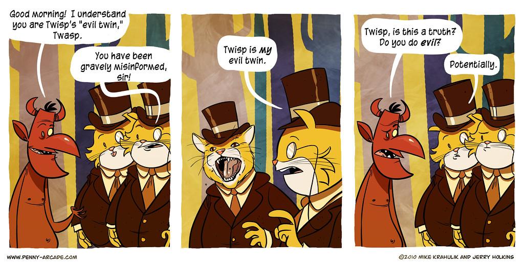 Twisp & Catsby in: Der Dorbelgorbel