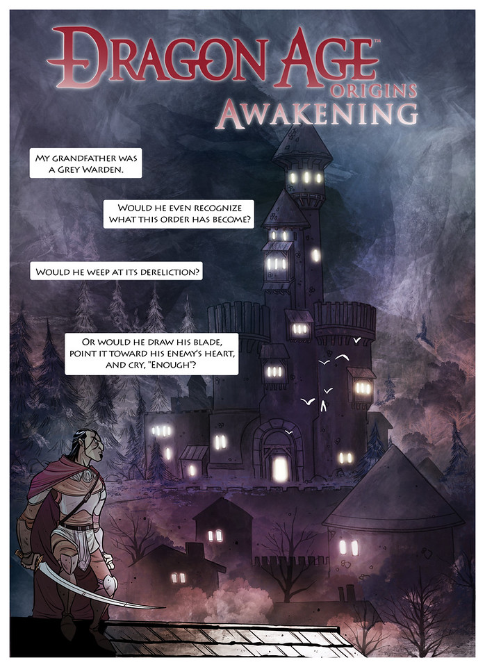 Dragon Age Origins Awakening Page 1