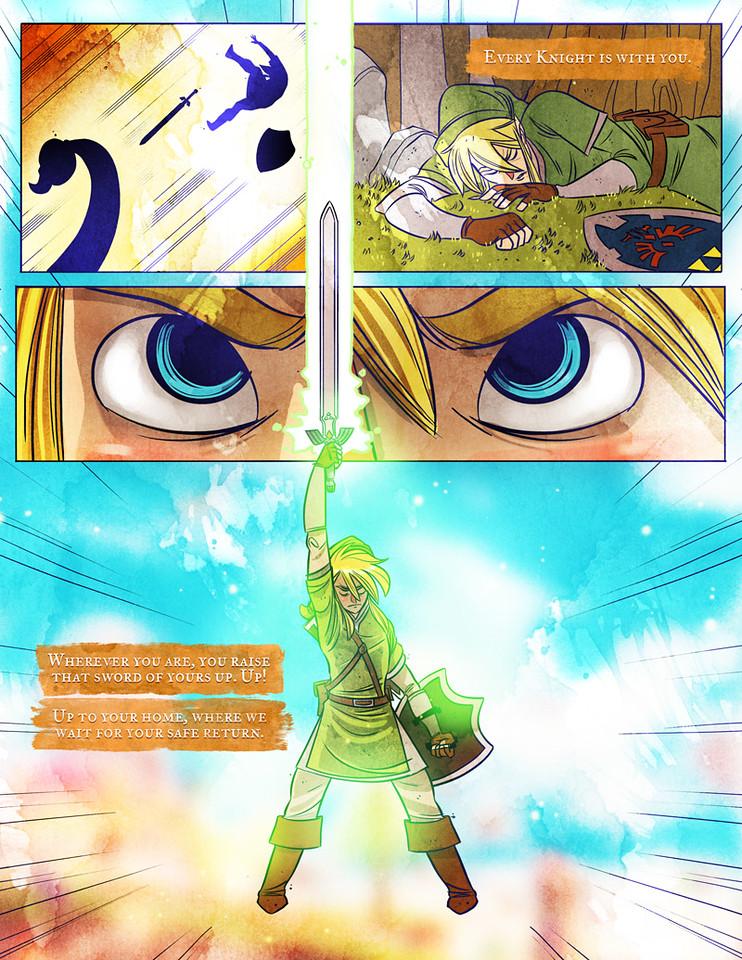 The Legend of Zelda: Skyward Sword Page 5