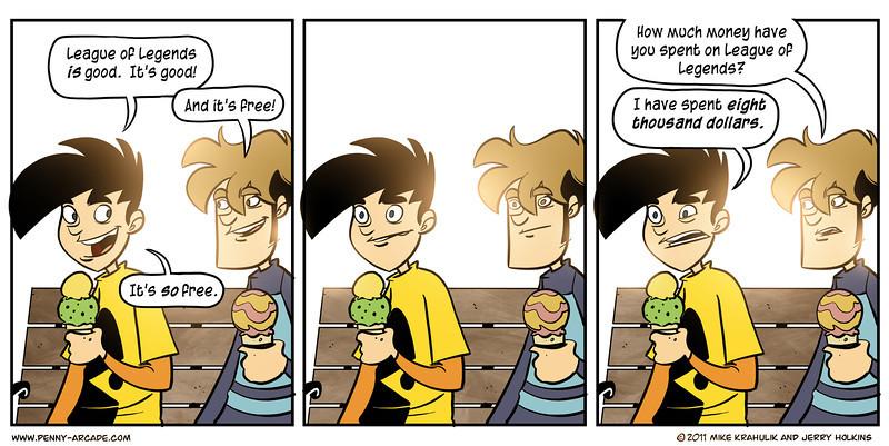 Penny Arcade on LoL