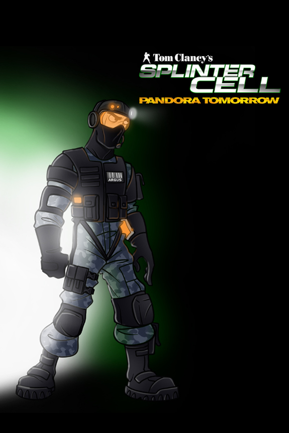 Splinter Cell Pandora Tomorrow Cover 2