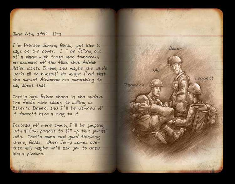 Brothers in Arms Journal Page 1