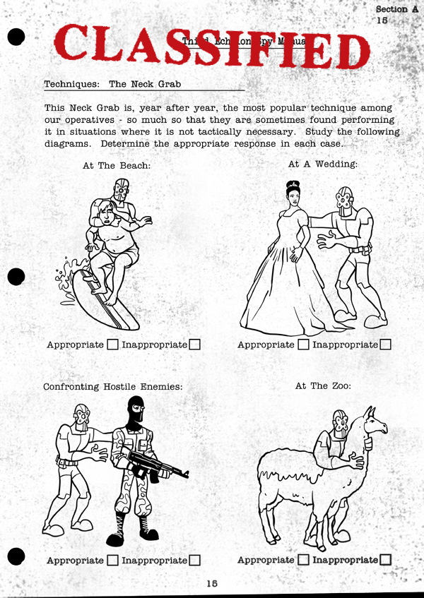 Splinter Cell Chaos Theory Spy Manual Page 12