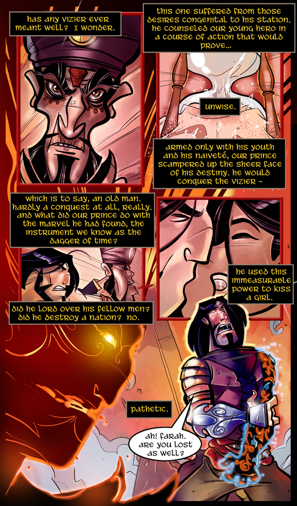 Prince of Persia, The Two Thrones Page 3