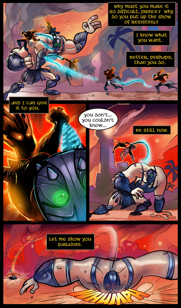 Prince of Persia, The Two Thrones Page 7