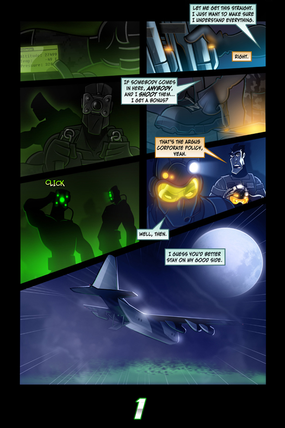 Splinter Cell Pandora Tomorrow Page 1
