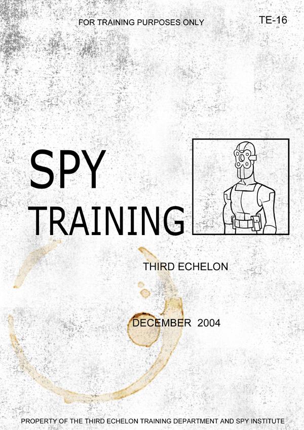 Splinter Cell Chaos Theory Spy Manual Cover