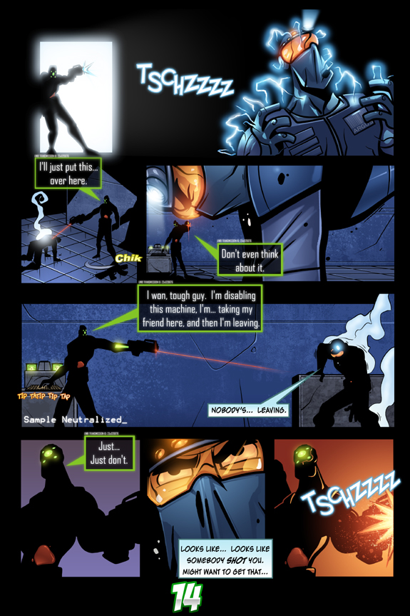 Splinter Cell Pandora Tomorrow Page 14