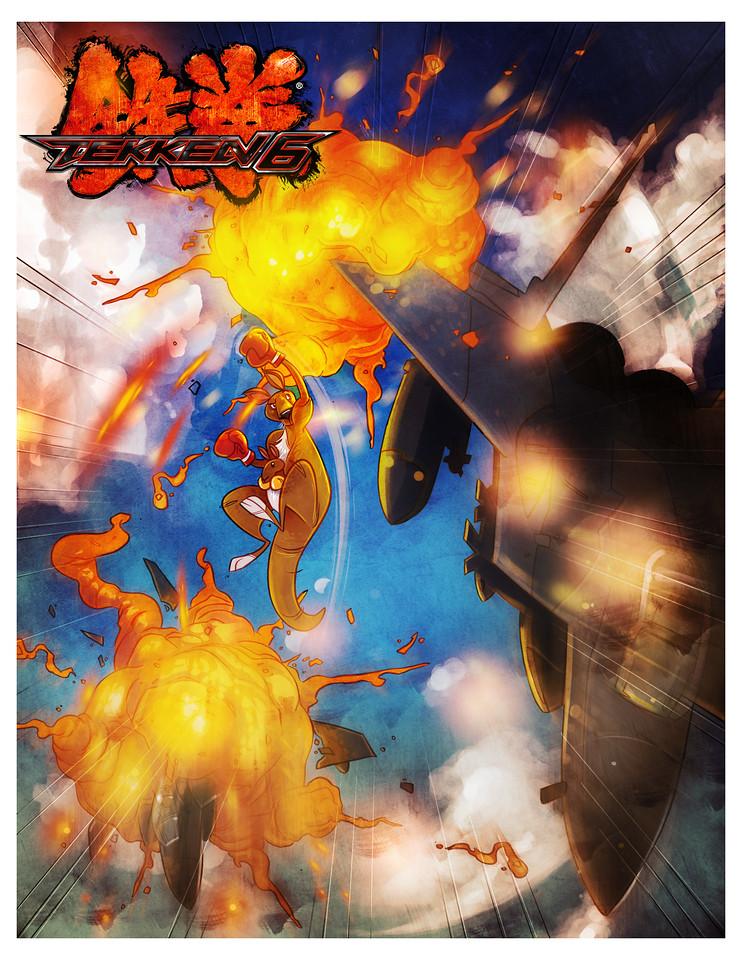 Tekken 6 Cover