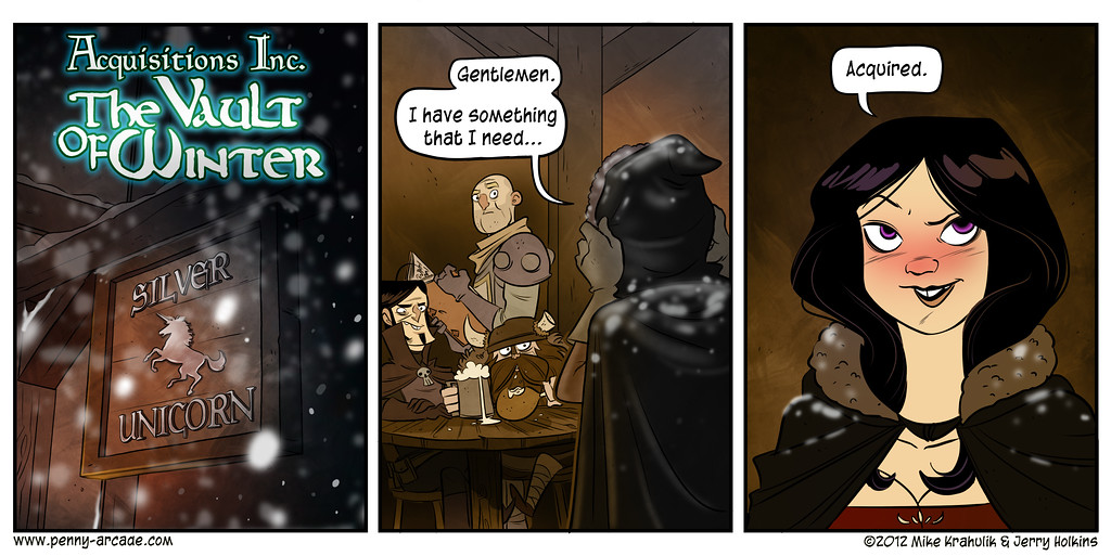 The Vault Of Winter, Part One