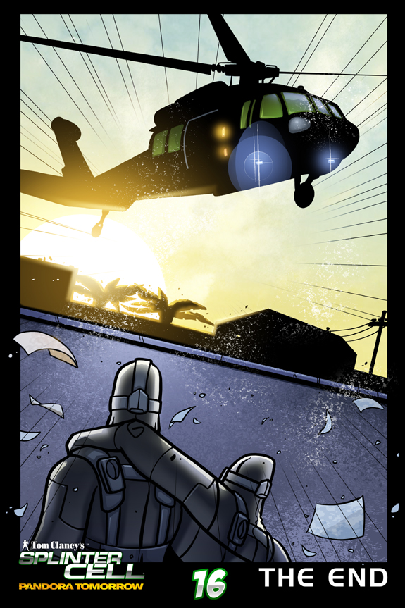 Splinter Cell Pandora Tomorrow Page 16